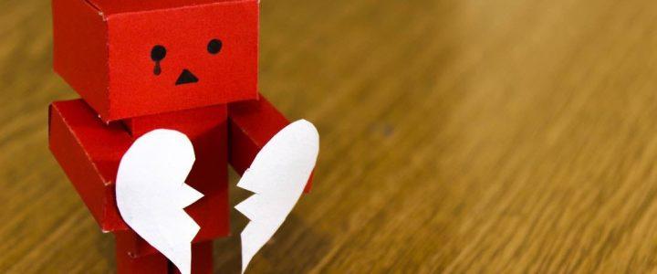 Hoe gaan mannen om met een relatiebreuk?